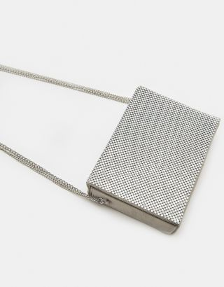 Metal Crossbody Bag