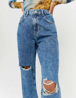 Straight Dad Fit Jeans