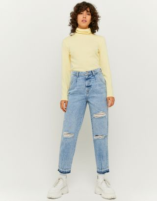 Slouchy Ripped Jeans