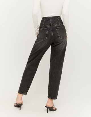 Corset High Waisted Slouchy Jeans