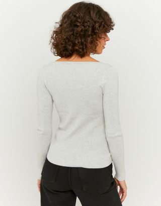 Ruched Jumper