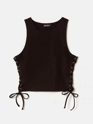 Black Side Cut Outs Top
