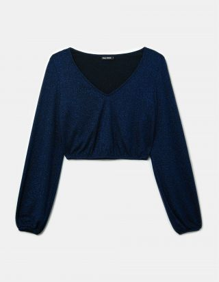 Lurex Crop Top